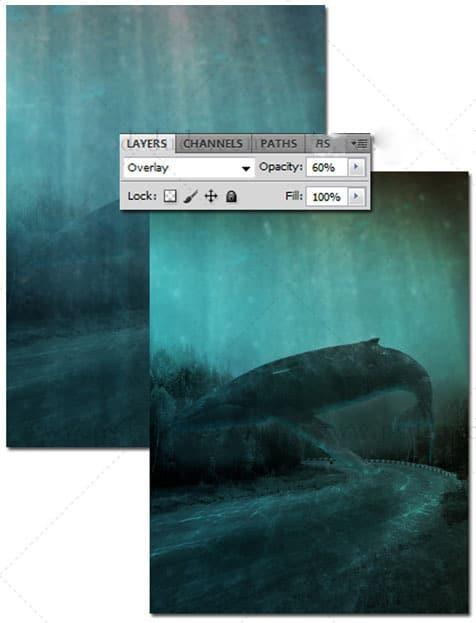 ایجاد منظره زیبا در زیر آب با استفاده از فتوشاپ