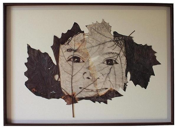 کار بر روی برگ، هنر لرنزو منوئل درا