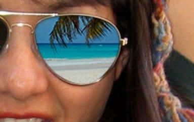 اضافه کردن انعکاس روی عینک در فتوشاپ