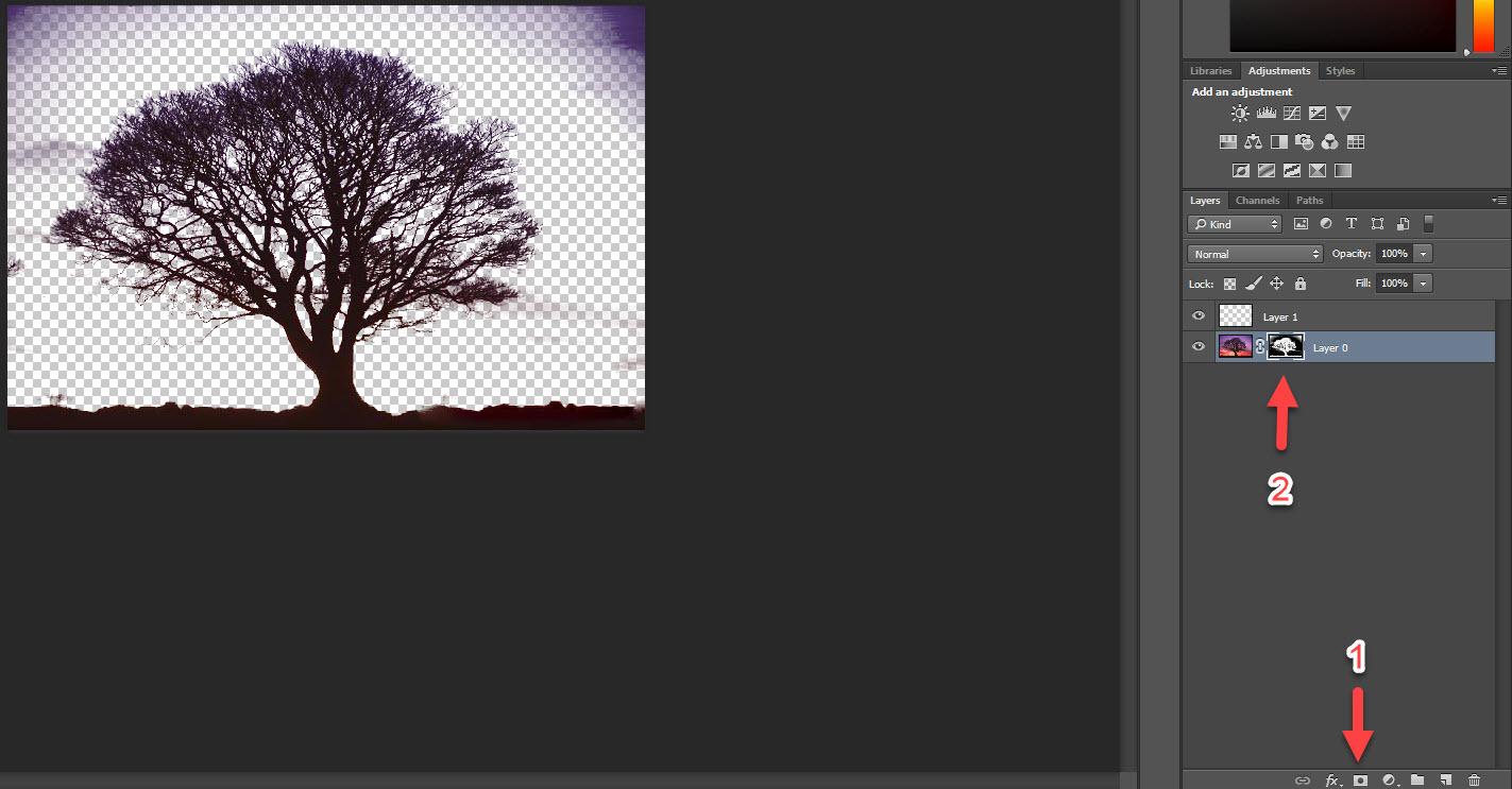 حذف تصویر پس زمینه