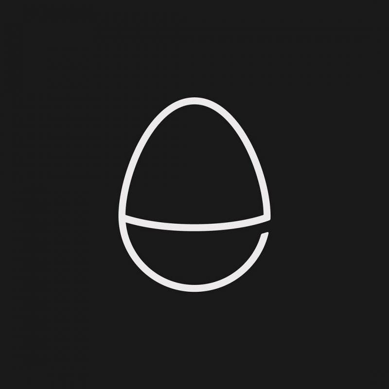 لوگو خلاقانه تخم مرغ