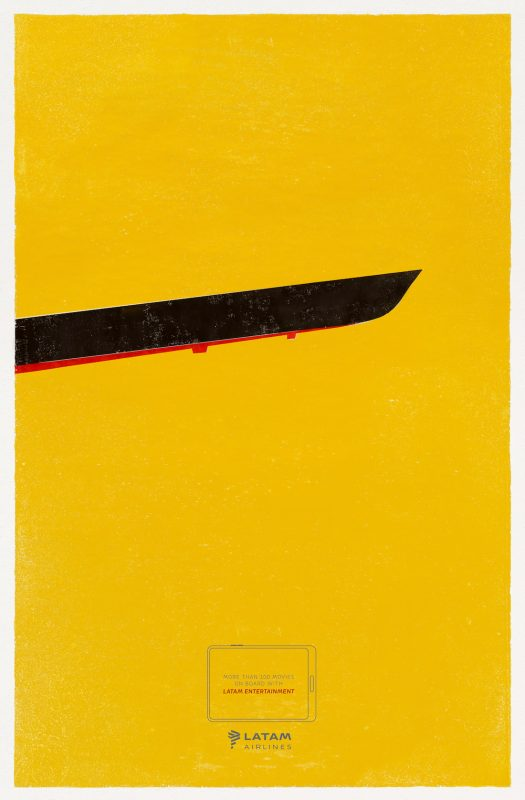 پوستر تبلیغاتی فیلم Kill Bill