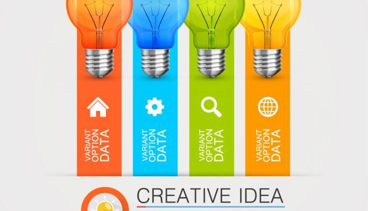 وکتور ایده های تجاری