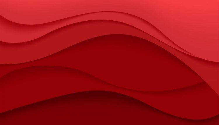 وکتور انـتزاعی قـرمز و مـشکی