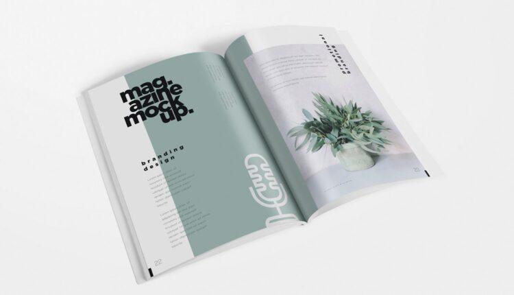 موکاپ زیبای مجله