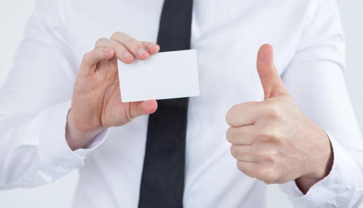 تصاویر استوک نمایش کارت ویزیت