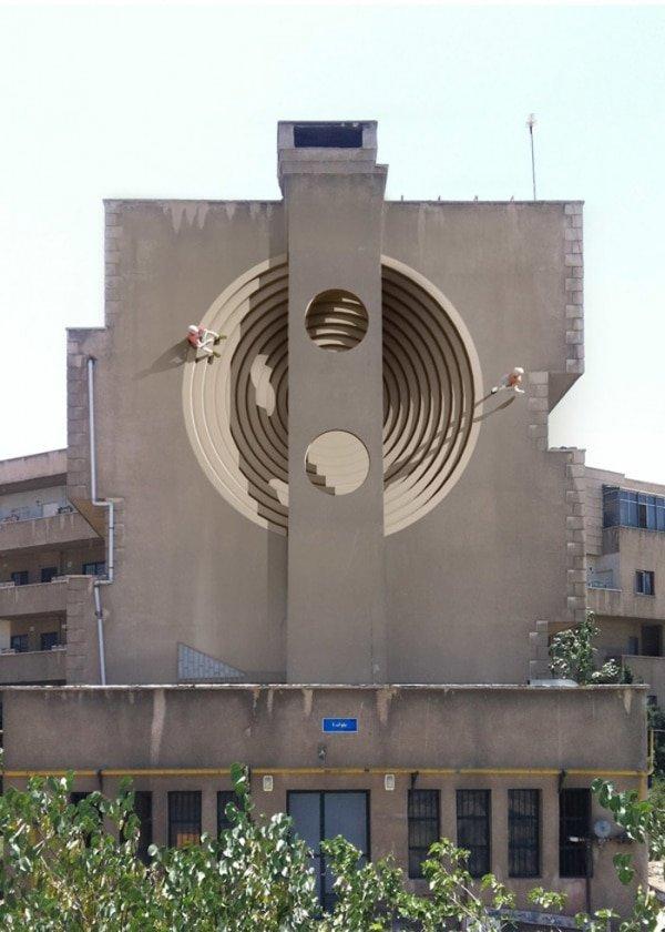 نقاشی دیواری مهدی قدیانلو