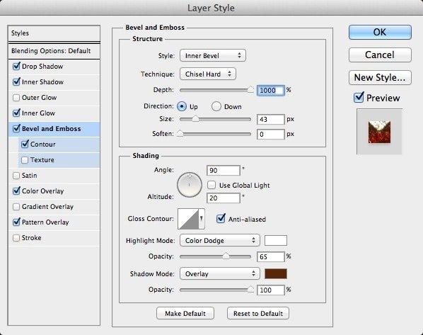 آموزش تایپوگرافی طرح فلز در فتوشاپ