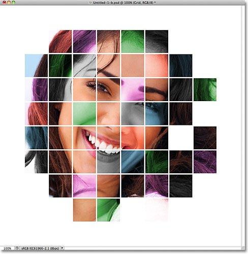 رنگ شبکهای