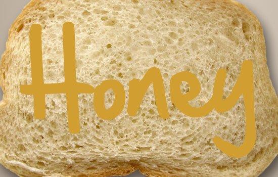 طراحی یک متن عسلی