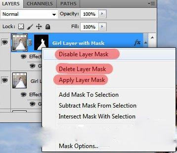 همه چیز درمورد لایه ماسک در فتوشاپ
